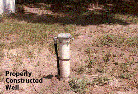 Properly constructed well